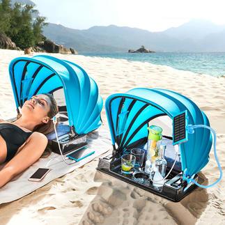 Strandschelp 2.0 Handig mee te nemen, beschermend en comfortabel. Ontwikkeld in Australië.