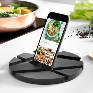 SmartMat Handige tablethouder voor in de keuken: compact en veelzijdig te gebruiken.