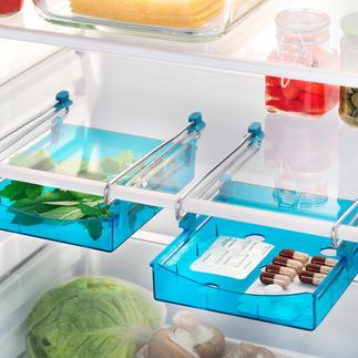 Extra lade voor de koelkast, set van 2 Voor meer ruimte en overzicht.