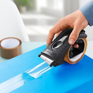 Tendo tapedispenser Bespaart kracht en werkt zonder te hoeven trekken en scheuren.
