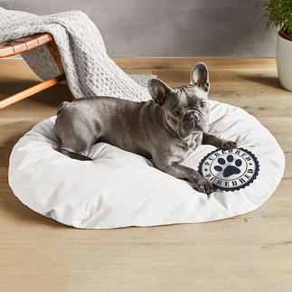 Honden- of Kattenkussen met alpenden Wellness voor viervoeters.