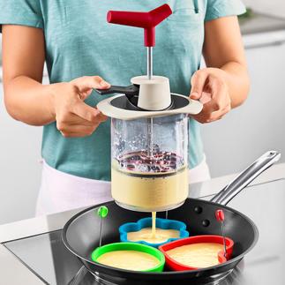 Deegmaker Ingrediënten voor het deeg afmeten, mixen en nauwkeurig in porties verdelen.