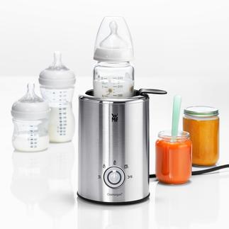 WMF Lono babyvoeding- en flessenwarmer Bijzondere flessenwarmer die dankzij 5 verschillende instellingen altijd voor een perfecte temperatuur zorgt.