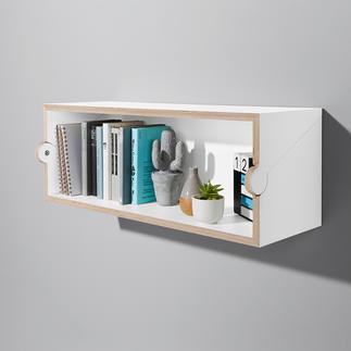 Twofold plank/secretaire Eenvoudig, compact en multifunctioneel door het geniale draaimechanisme.