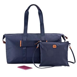 Bric`s 2-in-1-Multi Bag Licht, opvouwbaar, veelzijdig en heel elegant.