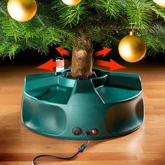 Elektrische kerstboomstandaard Nog nooit hebt u uw kerstboom zo eenvoudig, snel en perfect opgezet.