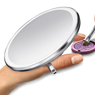 Sensorzakspiegel Feller, gelijkmatiger en kleurechter vergroot 3 keer