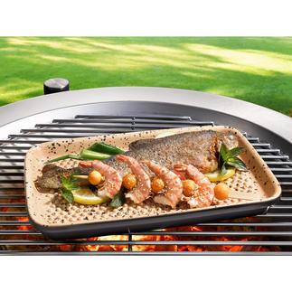RÖMERTOPF® Lafer BBQ-grillschaal Wereldprimeur: grillen met RÖMERTOPF®-keramiek.