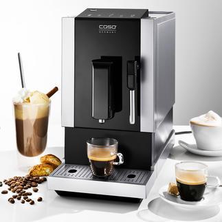 Caso® volautomatisch koffiezetapparaat Café Crema One Dit apparaat is veelzijdig, ziet er goed uit en neemt weinig ruimte in.