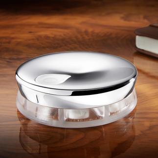 Alessi design pillendoosje Met 7 vakjes en draaisluiting.