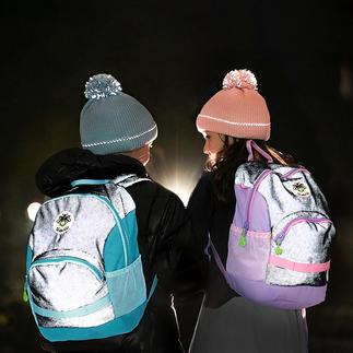 Twinkle Kid® reflectorrugzak Cool overdag en veilig als het donker is.