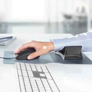 Zero G glider® onderarmondersteuning Dit glijdende hulpmiddel ondersteunt uw onderarm bij elke muisbeweging.