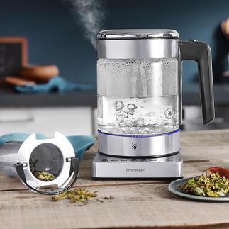 WMF KÜCHENminis® waterkoker Vario Ruimtebesparende waterkoker met een inhoud van 1 l. Ook handig voor het maken van een heerlijk kopje thee.