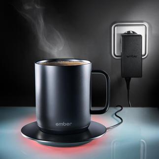 Ember® Ceramic Mug De eerste verwarmbare beker met naar wens in te stellen temperatuur.