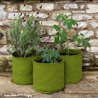 Vigoroot™ plantenzak Hoogwaardige plantenzakken van luchtdoorlatend hightech-weefsel in plaats van plastic.