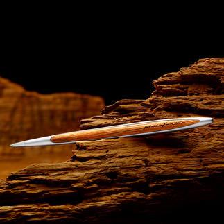 Pininfarina balpen van kaurihout In typisch Pininfarina-design.  Exclusief voor klanten van Pro-Idee.