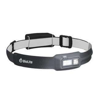 Ultralichte led-hoofdlamp Weegt maar 69 g. Is maar 9 mm dik. En even comfortabel als een normale hoofdband.