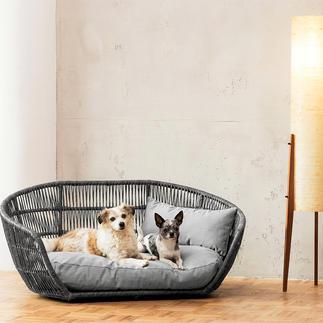 Design hondenmand Zowel voor binnen als buiten. Met zachte bekleding. Waterafstotend en vuilwerend.