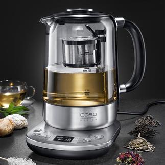 Gourmet-theezetapparaat Dit slimme apparaat zet verschillende soorten thee, op optimale wijze en helemaal automatisch.