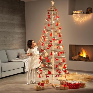 Spiraalboom Deze kerstboom is gemakkelijk, snel en zonder veel gedoe in elkaar te zetten.