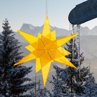 Cazador-del-sol zonnevanger Schittert puur door invallend daglicht. Het origineel van Cazador-del-sol, made in Germany.