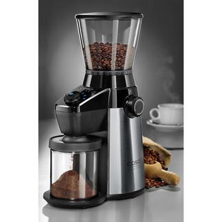 Caso koffiemolen Barista Flavour Perfect hulpmiddel voor het maken van aromatische, versgemalen koffie voor uw espresso- of koffiezetapparaat.