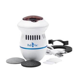 PediVac™ pedicure Veel hygiënischer: de elektrische pedicure met zuigfunctie.