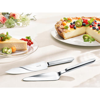 Gebaksset Snijdt en serveert elk type taart en gebak: schoon en stijlvol.