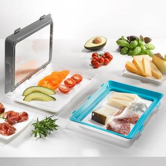Click & Fresh-vershoudbakje, set van 2 Het duurzame alternatief voor wegwerpbakjes en -verpakkingen.
