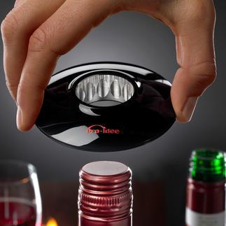 Wine-Donut® Eindelijk: wijn met een schroefdop stijlvol openen.
