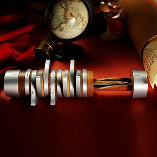 Penhouder Pininfarina Codex Alleen wie de code kent, kan de cilinder openen.