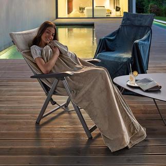 Fleeceplaid/-deken Heerlijk zachte, warme fleece om in weg te kruipen. Blijft perfect zitten.