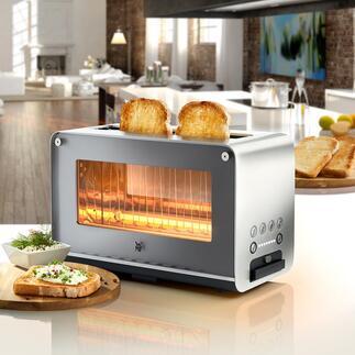 WMFbroodrooster met glazen kijkvensterLONO Topdesign. Toptechniek. Topprijs. Duurzame kwaliteit van WMF.