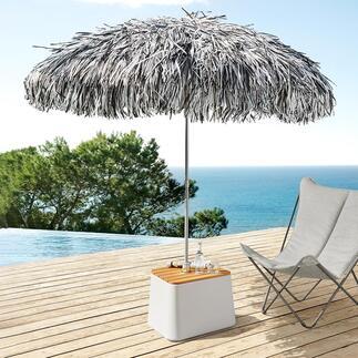 Parasol met franje Spectaculaire blikvanger in de tuin, op het terras en bij het zwembad.