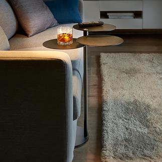 Bijzettafeltje MALO Sierlijk tafeltje met drie plateaus. Mobiel en praktisch in het hele huis.