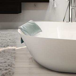 BadkussenLOFT Veel eleganter en comfortabeler: wasbaar comfort-nekkussen voor de badkuip.