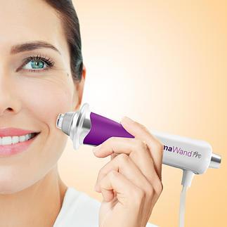 DermaWand®Pro 100.000 micro-impulsen/seconde liften de wenkbrauwen en stimuleren de bloedsomloop.