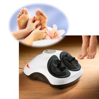 Voetreflexzonemassage-apparaat Slechts zelden gecombineerd: Shiatsu- en luchtmassage samen met een warmtefunctie in één professioneel apparaat.