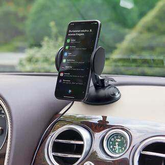 Universele 2-in-1-houder Supergrip Veiliger, praktischer: uw navigatiesysteem of smartphone op de juiste plek – en niet per se op de voorruit.