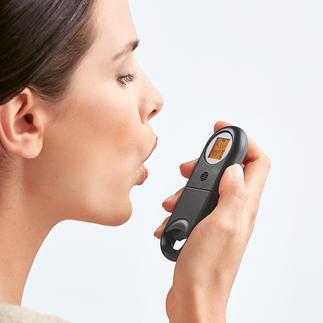Slechte-adem-sneltester Frisse adem? Zekerheid binnen enkele seconden.