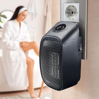 Plug-in mini-kachel Uw mobiele mini-kachel voor badkamer, kantoor, hobbykelder, tuinhuis, camper, ...