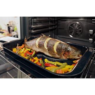 Eurolux® vishouder Geen lastig omdraaien meer. Niets blijft plakken of valt uitelkaar. Bekroond met de German Design Award 2020*.