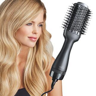 4-in-1 heteluchtborstel De betere hairtool droogt, borstelt, maakt glad en stylet in één keer.