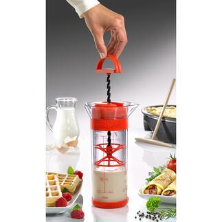 Twist'nMix handmixer De razendsnelle Twist'n Mix voor maximaal 700 ml crêpe-, wafel- en pannenkoekenbeslag.