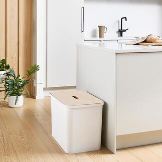 Opberg-/afvalbakkenset Voor het verzamelen, opbergen, sorteren, afval scheiden en zelfs om comfortabel op te zitten.