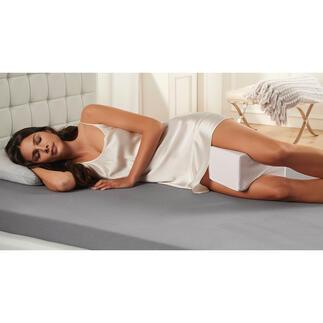 Cool Gel-beenkussen Het betere beenkussen: met Cool Gel-laag voor een aangenaam slaapklimaat.