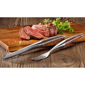 Sknife steakbestek of steakmes, 2-delige set Het steakbestek van beroemde 3-sterrenrestaurants – nu ook voor thuis.