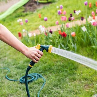 Rekbare slang in premium-kwaliteit Rekbare tuinslang: sterker, robuuster en duurzamer. Nu in nieuwe premium-kwaliteit.