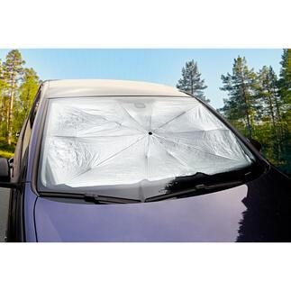 Autozonnescherm Bescherming tegen warmte en uv-straling voor uw auto, makkelijker kan bijna niet.