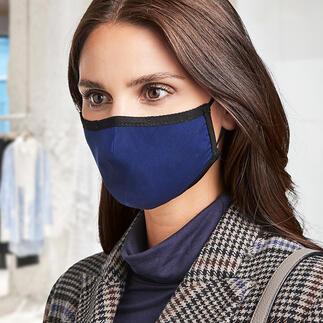 Mondmasker Livinguard Mondkapje van de nieuwste generatie: zijdezacht Livinguard-mondmasker met gepatenteerde Livinguard-stoftechnologie.